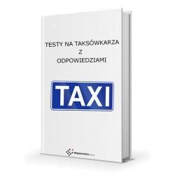 Testy na taksówkarza, licencja na taksówkarza, testy na taxi